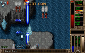 A level in Tyrian 2000. Tyrian 2000, Eclipse Software/Epic Megagames, 1999.