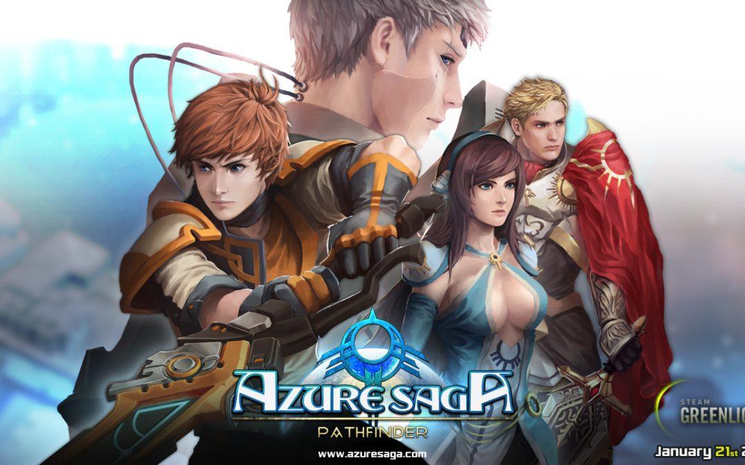 Azure Saga: Pathfinder, MassHive Media, 2017