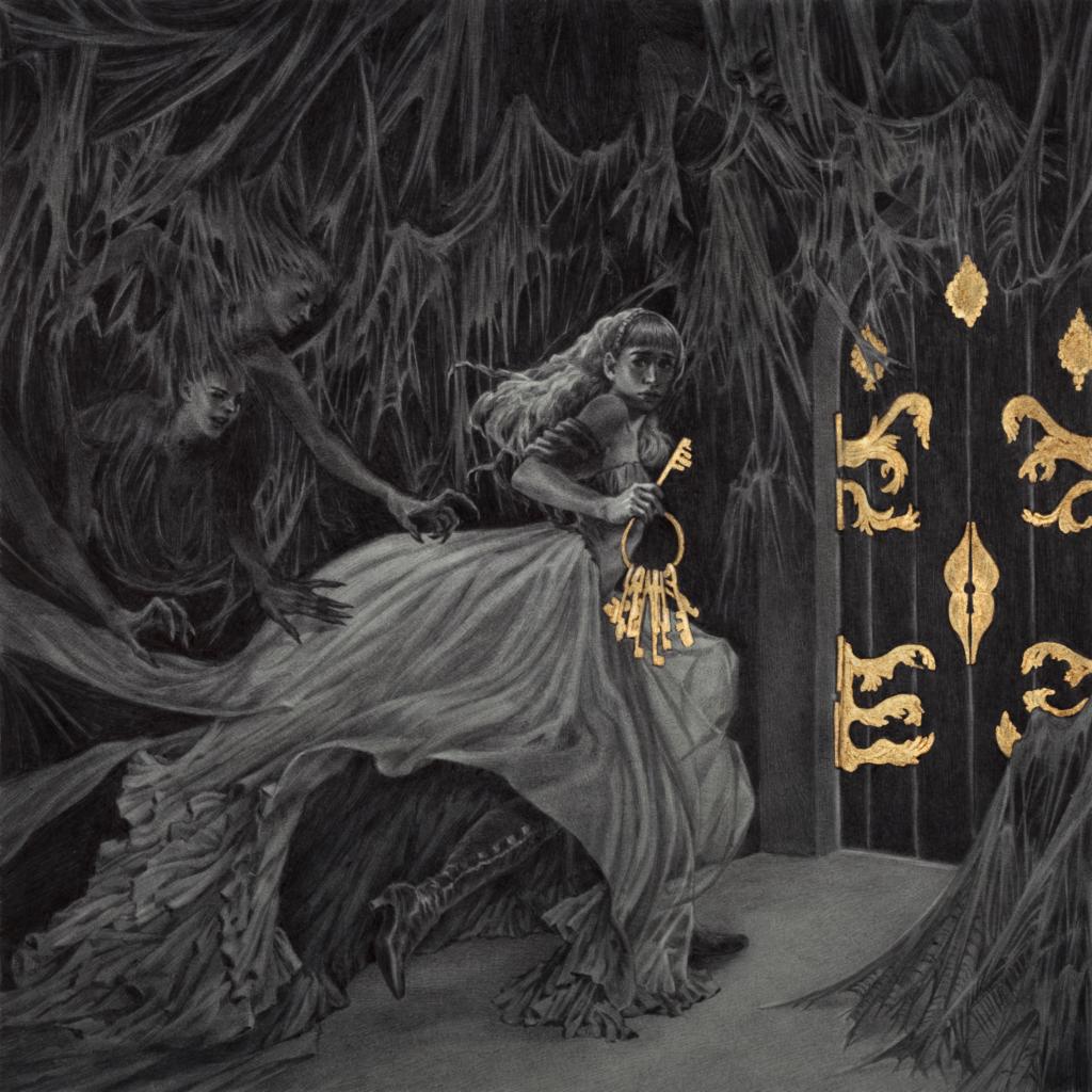 "Bluebeard's Bride, Magpie Games, 2017, written by Whitney ""Strix"" Beltrán, Marissa Kelly, and Sarah Richardson, art by Rebecca Yanovskaya and Kring"