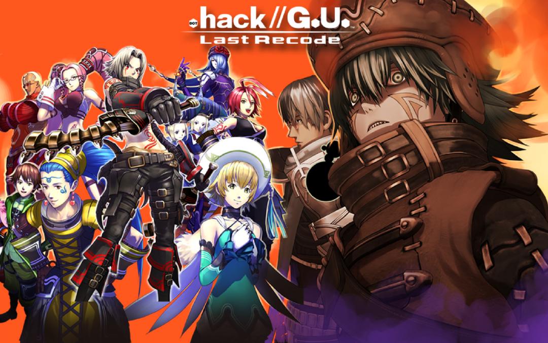 .hack//G.U. Last Recode, CyberConnect 2, Bandai, 2017