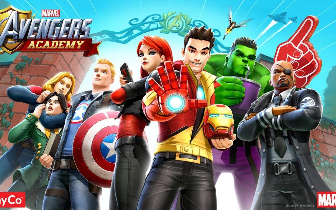 Marvel Avengers Academy, TinyCo, 2016