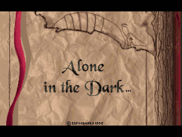 alone in the dark game 1992