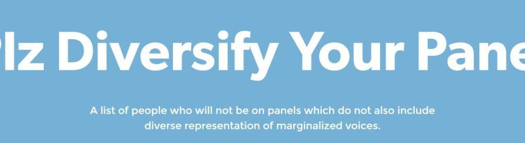 Plz Diversify Your Panels
