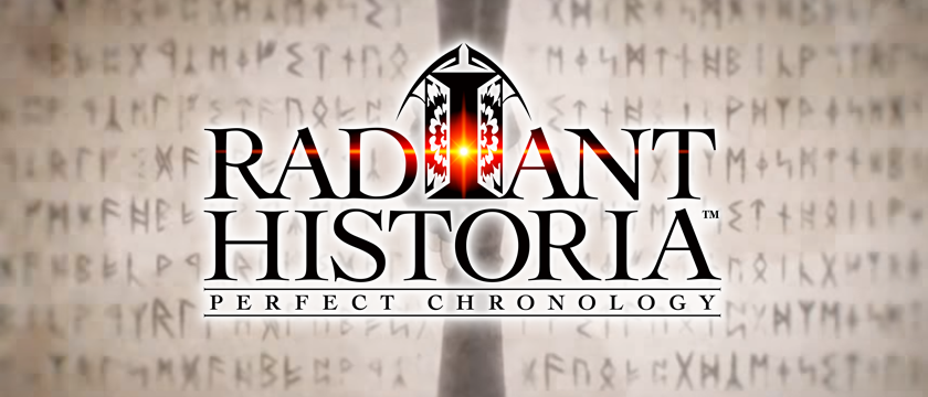 Opening animation and logo from Radiant Historia: Perfect Chronicle, developed and released by Atlus, 2017.