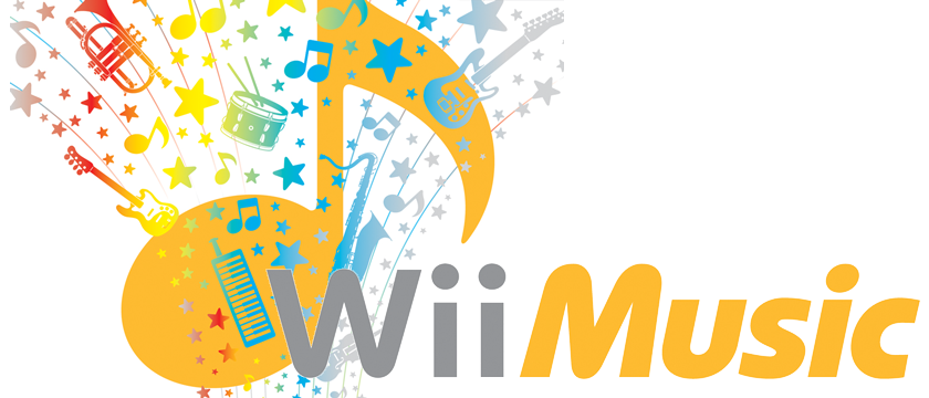 Modified cover art for Wii Music, developed and published by Nintendo, 2008.