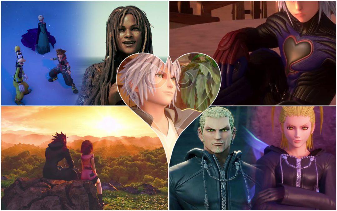 Kingdom Hearts III, Square Enix, 2018, Editing by Sammantha Sanchez