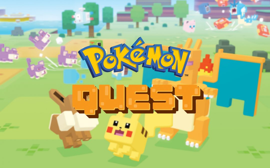 Pokémon Quest, Game Freak, The Pokémon Company, 2018