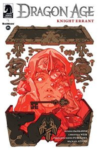 Cover of Knight Errant. Written by Nunzio DeFilippis and Christina Weir, illustrated by Fernando Heinz Furukawa, covers by Sachin Teng, colors by Michael Atiyeh, Dark Horse Comics, May 2017.