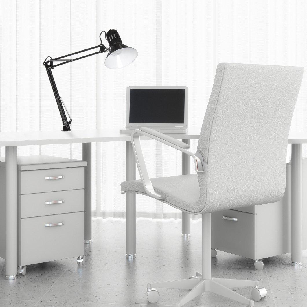 "Globe Electric 32"" desk lamp from Amazon."