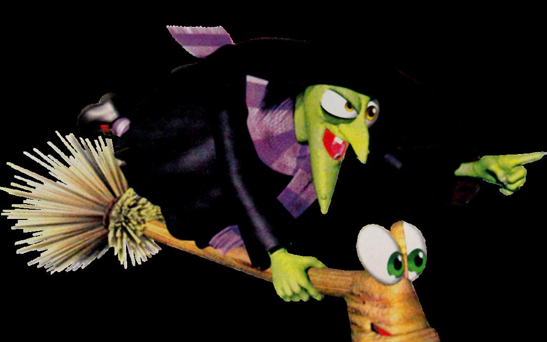 Gruntilda from Banjo-Kazooie.