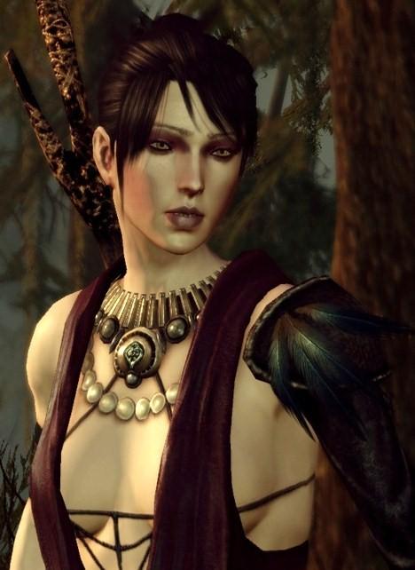 Morrigan from Dragon Age: Origins.