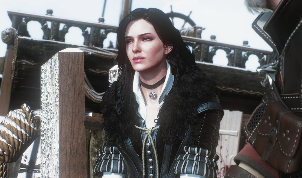 Yennefer from The Witcher 3. The Witcher 3: Wild Hunt, CD Projekt Red, CD Projekt, 2015.