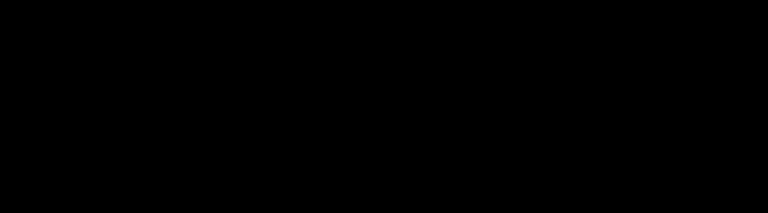 A black mustache silhouette.