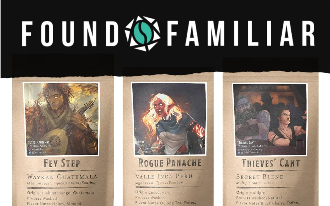 Found Familiar's Coffee Pairs D&D Inspiration with Delicious Brews
