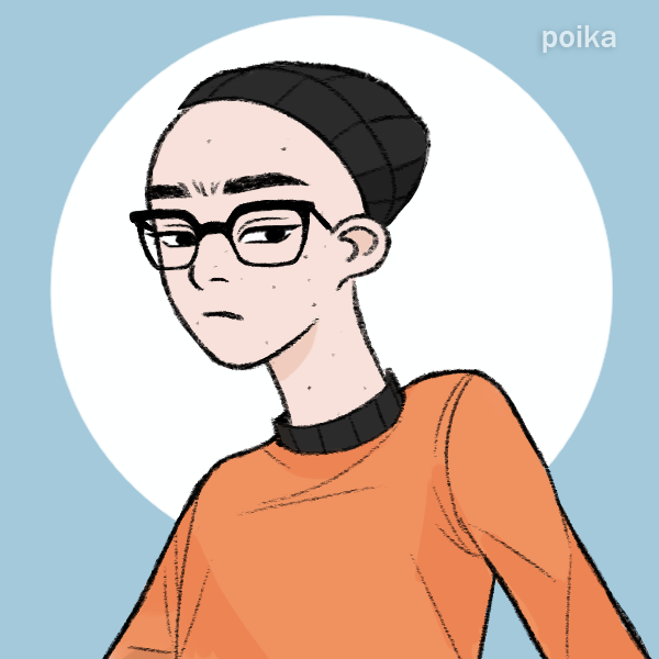 An illustrated avatar showing the author.
