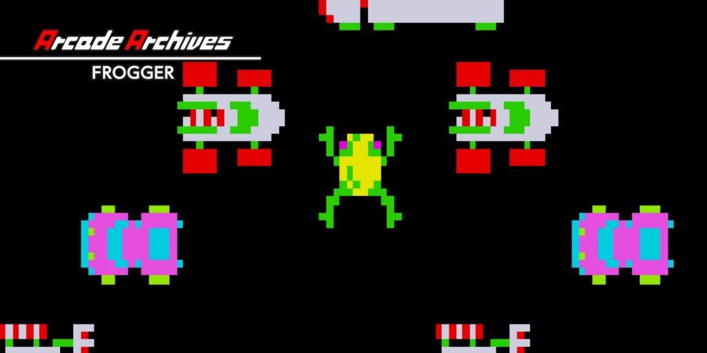 Frogger is a wife guy. Frogger, Konami, Sega, 1981.