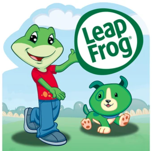 LeapFrog and LeapDog. Image courtesy of LeapFrog: Kids Learning Games.