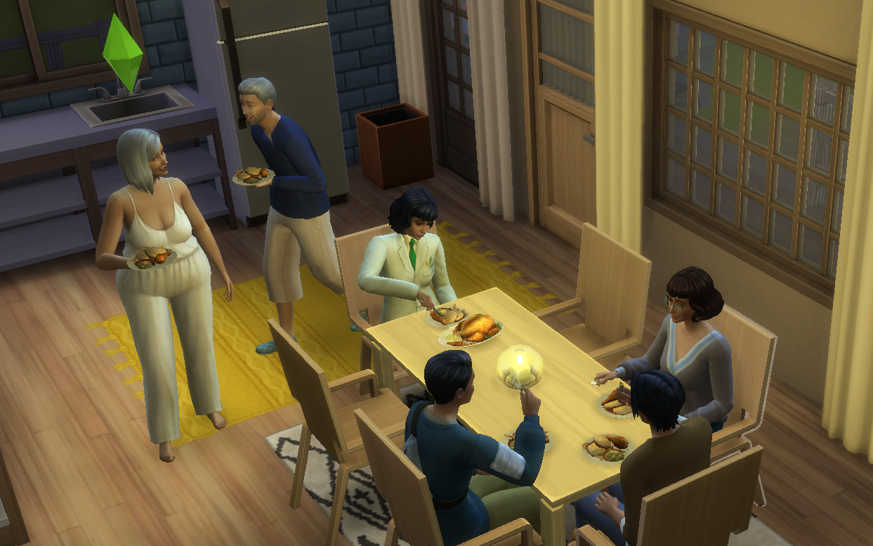 Making Friends With the Grim Reaper: Processing My Grief in The Sims
