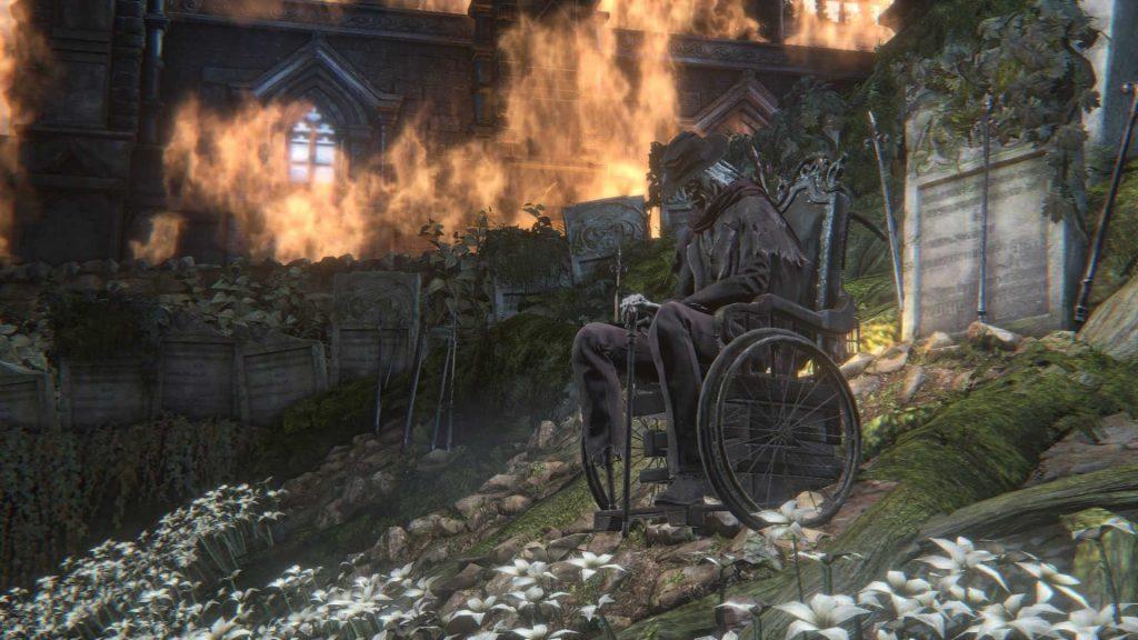 Hunter's dream in flame
